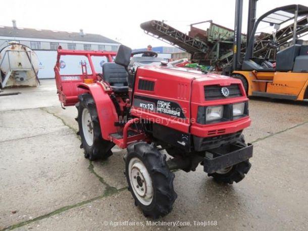 Mitsubishi 1x 4x4 compact tractor MTX 13