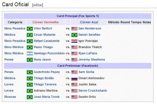 Vitor Belfort x Dan Henderson Ao Vivo 550x365 UFC Fight Night : Vitor Belfort x Dan Henderson Ao Vivo