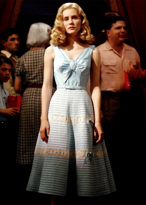 Alison Lohman pastel blue bow dress in Big Fish.