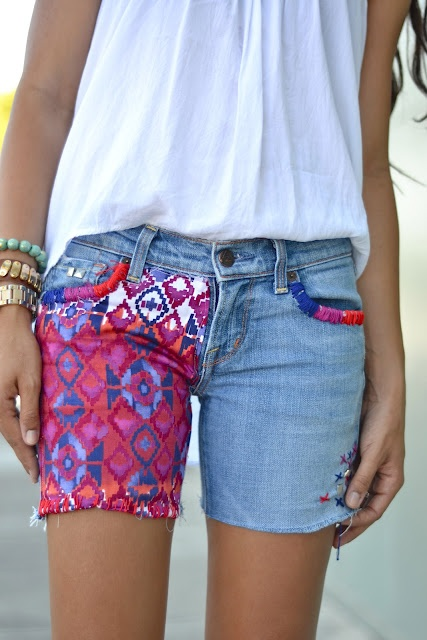 DIY Cutoff Shorts Tutorial --I have plenty of cutoffs to use this for!