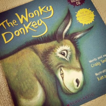 The Wonky Donkey- a hilarious children's book from Kiwi author Craig Smith