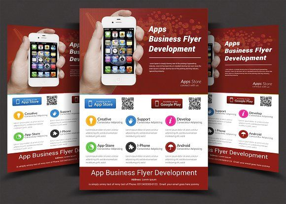 App Flyers by AfzaalGraphics on @creativemarket