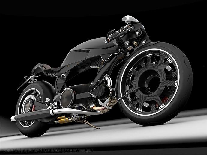 Moto Guzzi Big Mono Naked SDConcept - Pipeburn - Purveyors of Classic Motorcycles, Cafe Racers & Custom motorbikes