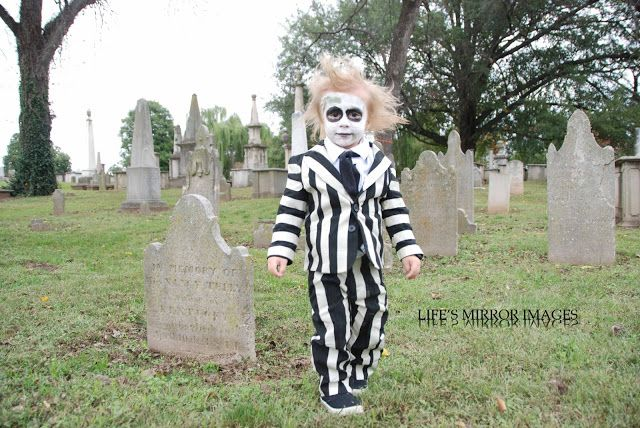 Life's Mirror Images:DIY Beetlejuice costume, Beetlejuice costume for toddler, Beetlejuice, DIY Halloween costume, black and white suit, little ghoul, Halloween costume,