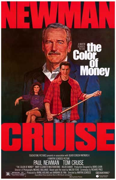 Martin Scorsese's 1986 film The Color of Money, based on a novel by Walter…
