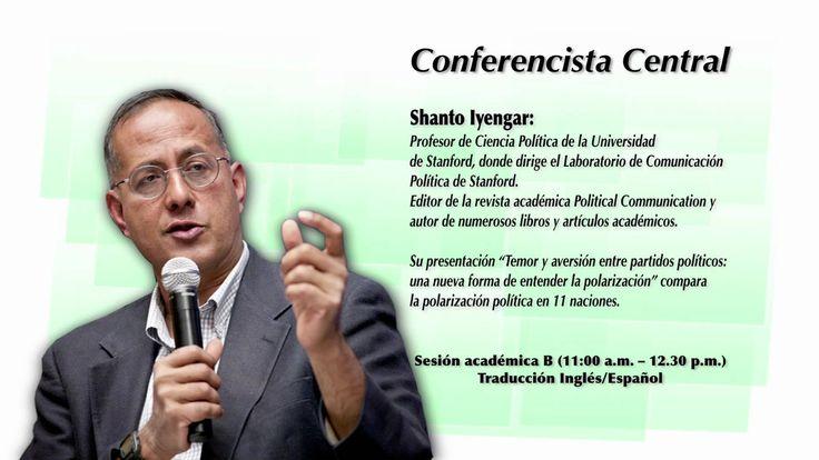 Conferencista Principal Shanto Iyengar