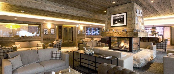 housemag.it Luce, oro e design alpino, nel tepore di un hotel svizzero
