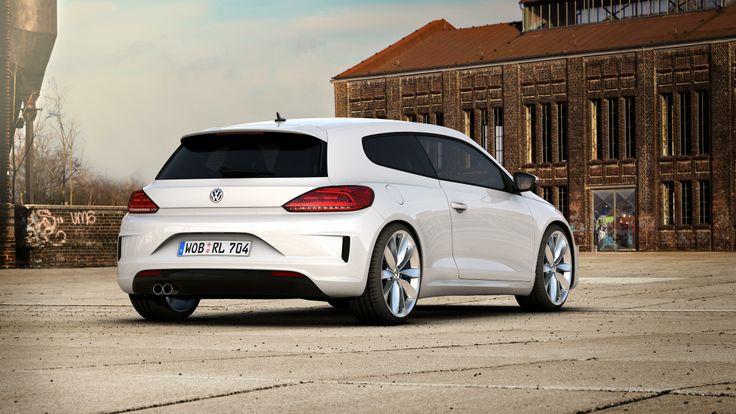 Volkswagen Scirocco R, face lift 2014