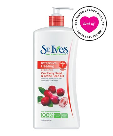 No. 11: St. Ives Intensive Healing Lotion, $5.99