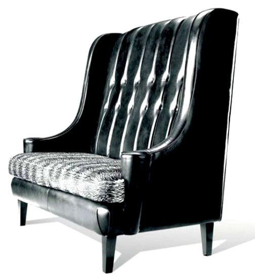 High Back Sofa From Taylor Lloe Furniture New York House Pinterest Settees Pub Interior And Bats