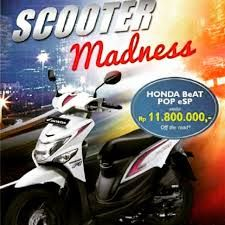 scooter madness..buat yg raih level Senior Manager sampai akhir tahun 2015