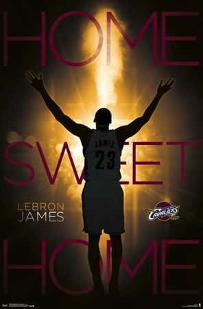 Cleveland Cavaliers - Lebron James 14 Poster at AllPosters.com