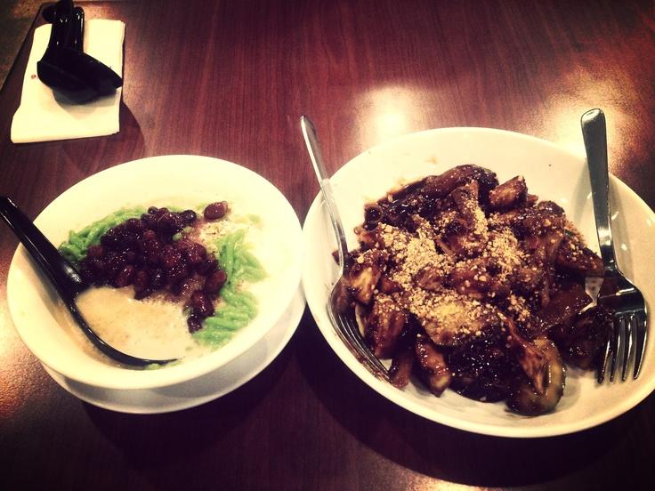 Penang styled Cendol & Rojak