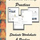 Here's everything you need to teach about Buddhist Worship Practices.  From temples and pagoda to offerings and meditation, your students will be t...