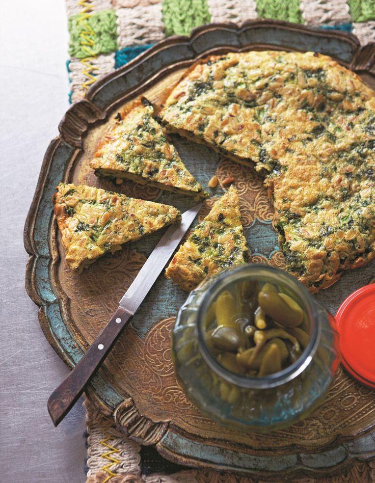 Kookoo sabzi   persian herb omelette