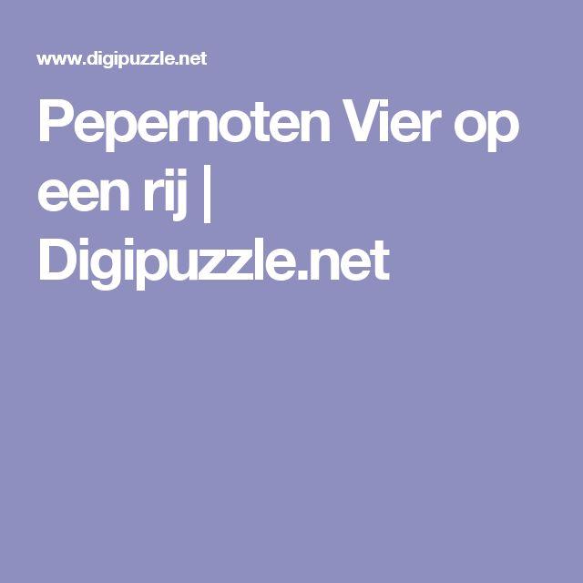 Pepernoten Vier op een rij | Digipuzzle.net