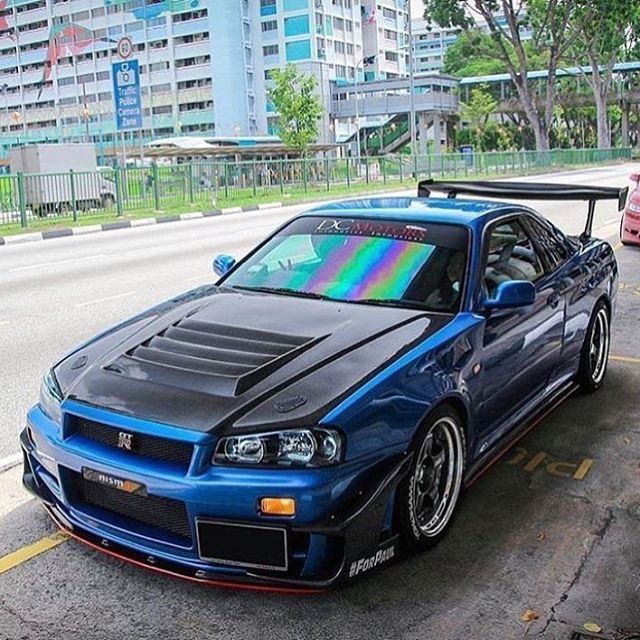 Follow One Of My Favorite Nissan Pages @nissansfinest! Great Content With. Nissan  Gtr 34Nissan Skyline R33Nissan ...