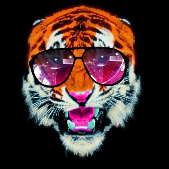 Wild Neon custom t-shirt design by Juan Leal
