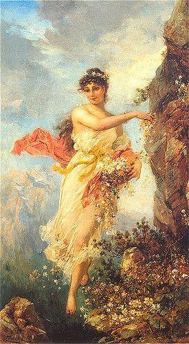 "Hans Zatzka (1859-1945), ""Flora of the Alps"""