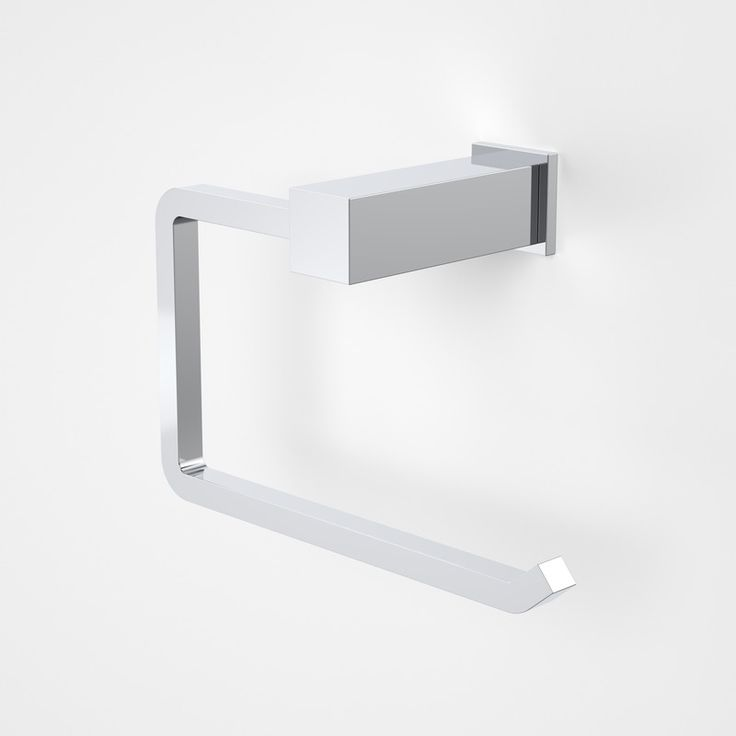 Quatro Toilet Roll Holder  http://www.caroma.com.au/bathrooms/bathroom-accessories/quatro/quatro-toilet-roll-holder