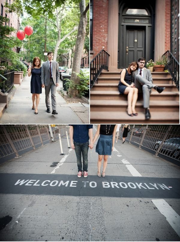 Welcome to Brooklyn! Brooklyn Engagement Session by Brookelyn Photography | Style Me Pretty