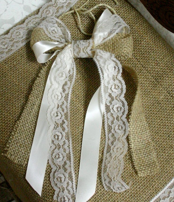 Country wedding decorative fabric bows, 5 for 25, French country, Cottage chic, rustic , shabby chic wedding bow, ding bow, Nursery bows. $25.00, via Etsy.