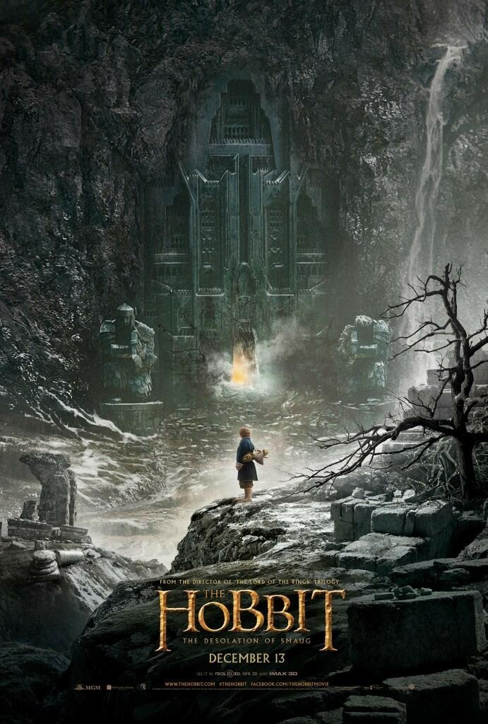 First look at the official poster of The Hobbit: The Desolation of Smaug!