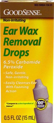 Ear Drops: Goodsenseandreg: Ear Wax Remover Drops 0.5 Oz. Case Pack 12 -> BUY IT NOW ONLY: $54.89 on eBay!