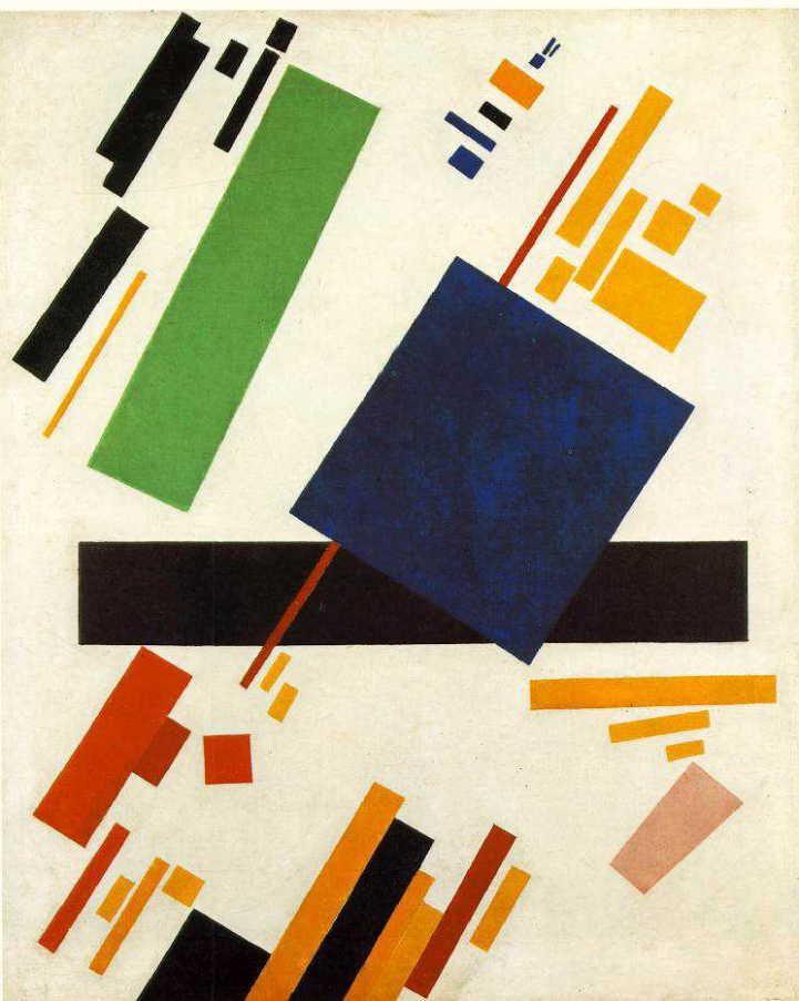 マレーヴィチ 「シュープレマテスト・ペインティング 」 1916 Oil on canvas 88 x 70 cm アムステルダム国立美術館 オランダ