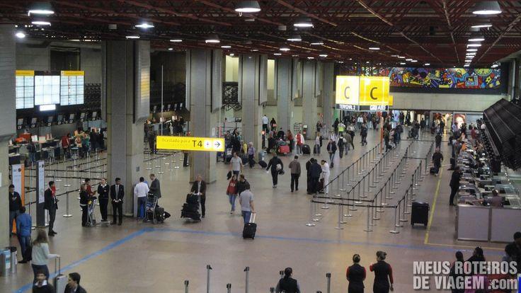 A Localização das Companhias Aéreas nos Terminais do Aeroporto de Guarulhos | Meus Roteiros de Viagem