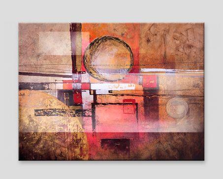 Cuadro moderno abstracto - ideal para salón. #abstracción #abstraccion #cuadroabstracto #cuadros #cuadro #salón #salon #decoraciones-pared #home-decor