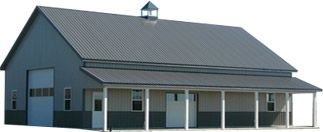 30X40 Metal Building Plans | Custom Pole Barn Estimates
