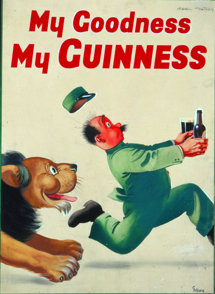 My Goodness My Guinness (Lion), John Gilroy, 1950s