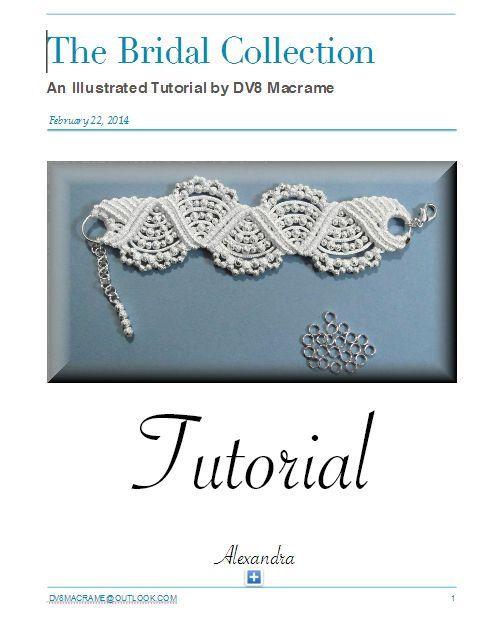Macrame Brida Wave Bracelet Tutorial. Easy to Follow DIY Instructions.