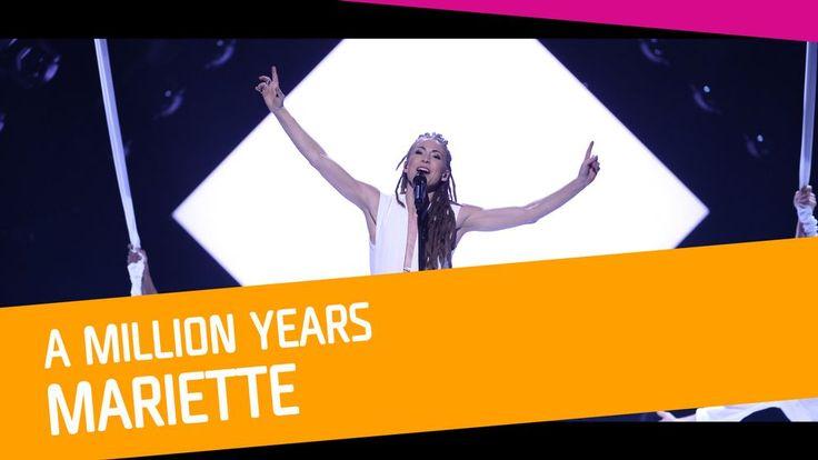 """Se Mariette sjunga """"A Million Years"""" i Melodifestivalen 2017."""