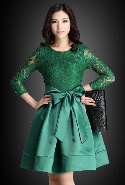 Gorgeous in green....