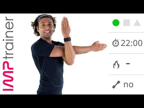 20 Minuti Con Esercizi di Stretching Per Schiena, Spalle e Braccia - YouTube