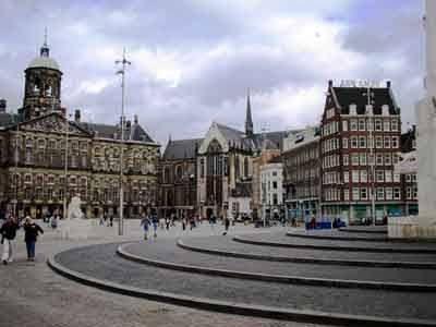 dam square #amsterdam #square