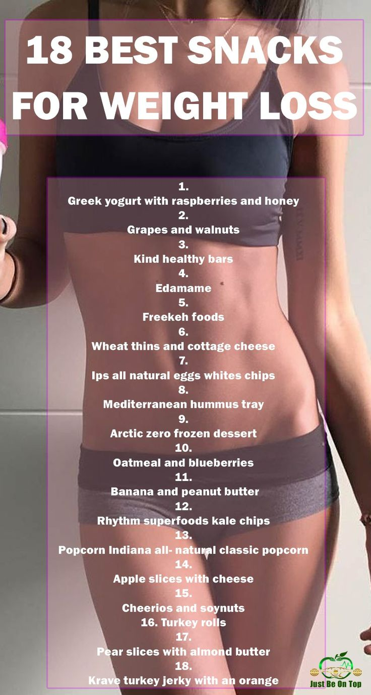 18 BEST SNACKS FOR WEIGHT LOSS | Just Be On Top