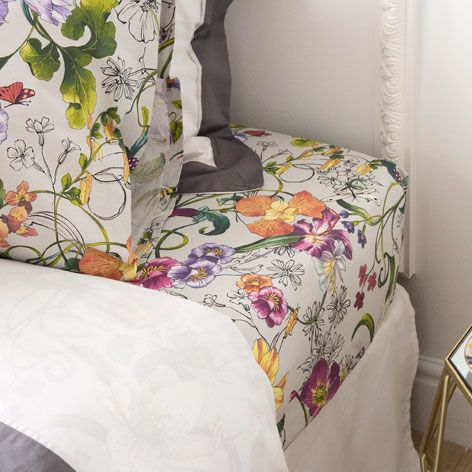 MULTICOLORED FLOWERS BED LINEN - Bedding - Bedroom | Zara Home United States