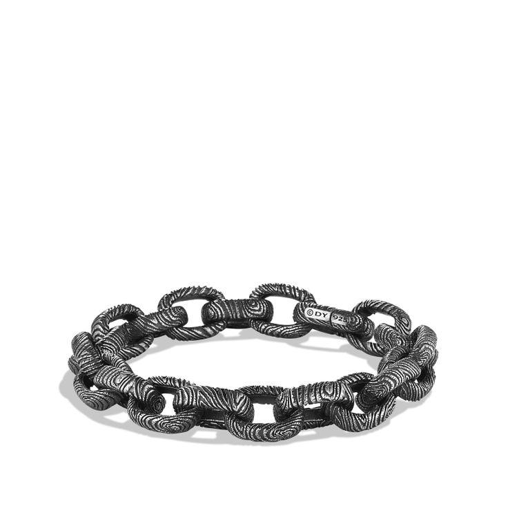iron wood large link bracelet men stuffdavid jewelryman