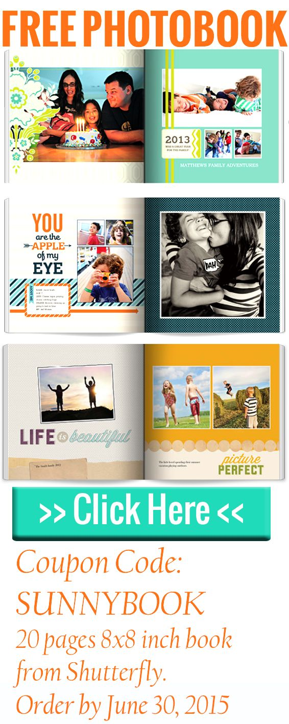 Free Shutterfly Book Coupon Code For All Photo Book Free Shutterfly Book Digital Scrapbooking