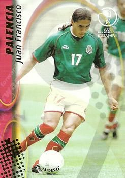 2002 Panini World Cup #81 Francisco Palencia Front