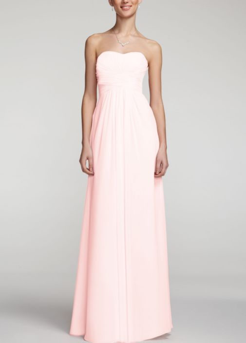 Pink Wedding Dresses David S Bridal : Dresses david s bridal style f in petal pink wedding