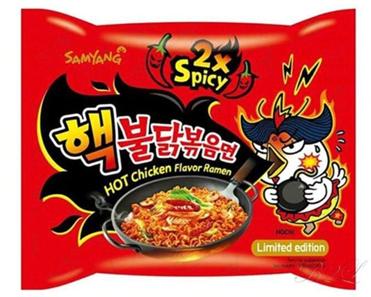 Korea 2X Spicy Chicken Noodle Korean Super Hot Fire Ramen [Limited Edition] #Samyang