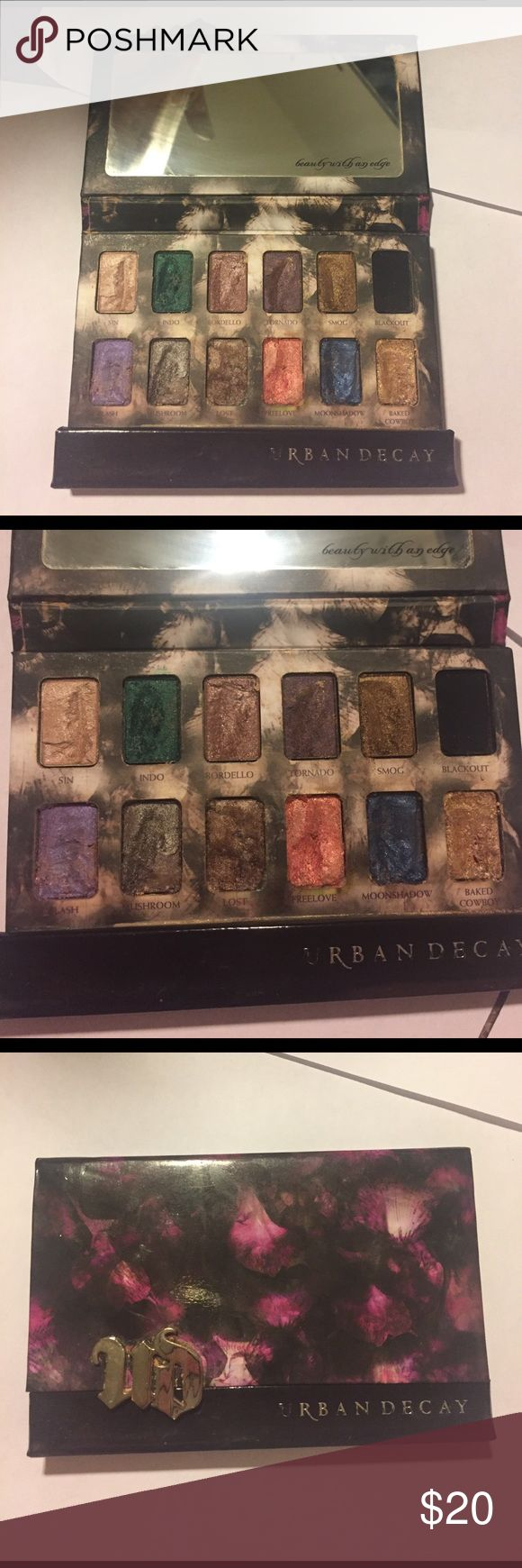 Urban decay shadow box eye shadow palette Pre owned authentic urban decay shadow box there is a lot of product left and being priced to reflect the condition. Smoke and pet free home. No trades Urban Decay Makeup Eyeshadow