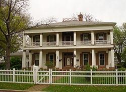 John Hossack House, Ottawa, Illinois (used in the underground railroad)