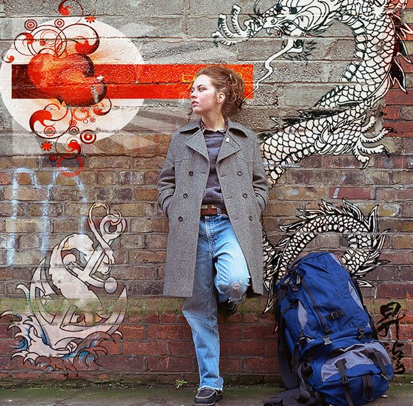 Cara membuat graffiti di Photoshop.