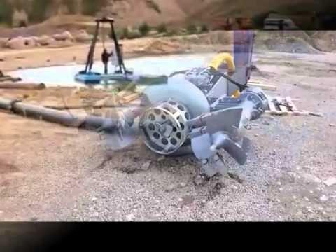 Погружной землесос и упрощеннная сортировка песка и ПГС при добыче