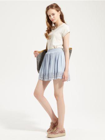 SINSAY - Spódnica z aplikacją Wzrost modelki: 176 cm<br>Modelka ze zdjęcia…